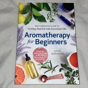 Brand new! Aromatherapy for beginners book